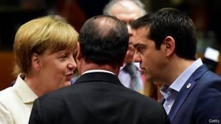 سیپراس، نخست وزیر یونان و مرکل، صدراعظم آلمان