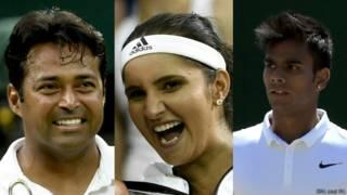 लिएंडर पेस, सानिया मिर्ज़ा, सुमित नागल, टेनिस, भारत