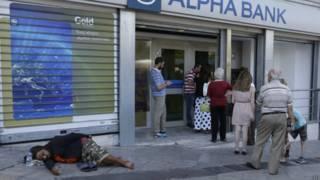 Banco en Grecia