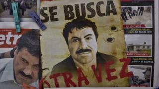 Prensa muestra rostro de El Chapo Guzman
