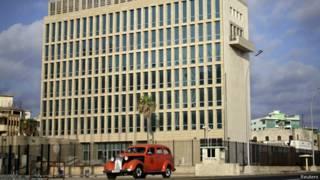 Seccion de intereses de EE.UU.en La Habana