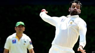 पाकिस्तानी क्रिकेटर मोहम्मद हफ़ीज़