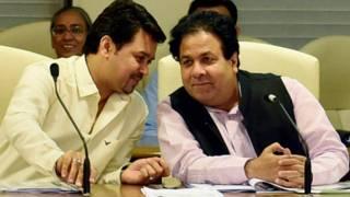 आईपीएल- अनुराग ठाकुर, राजीव शुक्ला