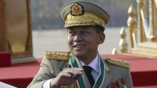 म्यांमार के सेना प्रमुख