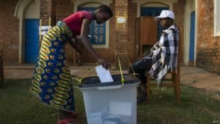 Выборы в Бурунди