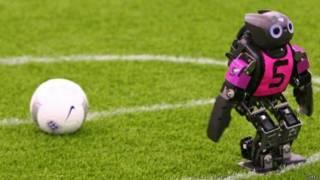 ह्यूमनॉएड रोबोट फ़ुटबॉल