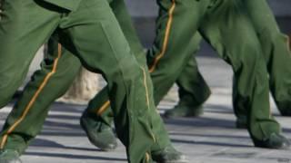 चीन आर्मी ग्रीन शू