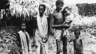 बंगाल का अकाल