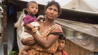 शिविरों में रह रहे नेपाल के भूकंप पीड़ित