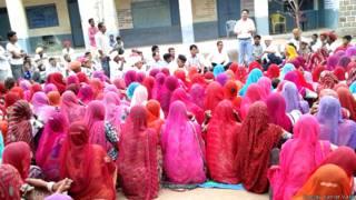 जालोर में गांव सभा की मीटिंग