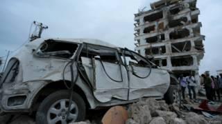 被炸彈襲擊的半島皇宮酒店