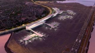 拉瓜地亞機場重修示意圖