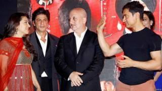 आमिर, शाहरुख़ और जूही के साथ अनुपम खेर