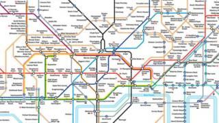 伦敦地铁图