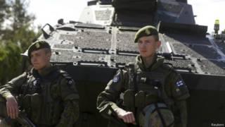 Финские военные