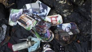 फ़लस्तीनियों के घरों में आगजनी