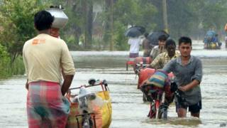 बंगाल में बाढ़