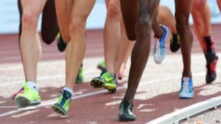 Ноги спортсменов