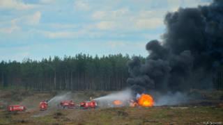 Катастрофа вертолета в Рязанской области
