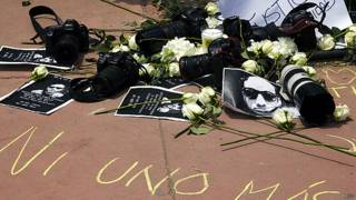 Hallan auto robado durante asesinato de periodista Rubén Espinosa en México