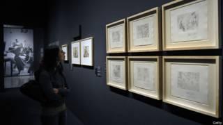 Картины Пабло Пикассо в музее
