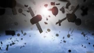 Perigo em órbita: o avanço do problema do lixo espacial