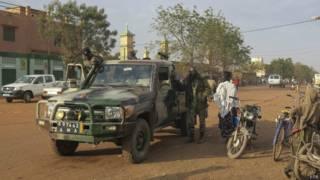 Севаре, город в центральной части Мали