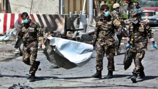 काबुल में एयरपोर्ट रोड पर धमाका