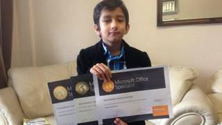 El niño prodigio de 6 años que se hizo especialista de Microsoft