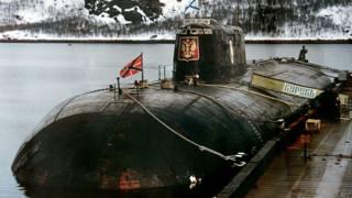 """Подводная лодка """"Курск"""""""