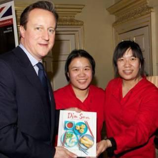 謝氏姐妹與英國首相