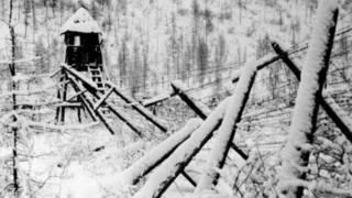 Лагерь на Колыме