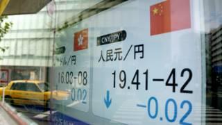 Курс юаня на Токийской фондовой бирже