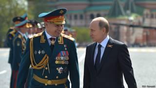 Шойгу, Путин