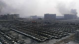 Вид на промышленную зону