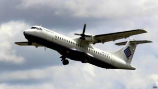 Самолет Trigana Air