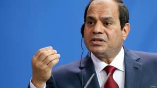 Президент Египта Абдель Фаттах Сиси