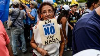 Opositora venezolana