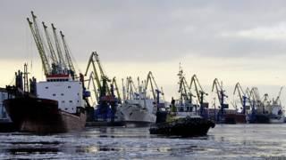 Порт Санкт-Петербурга