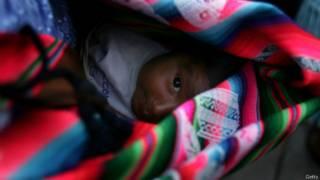 Niño boliviano