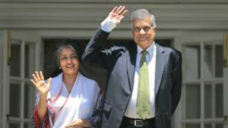 ranil and wife