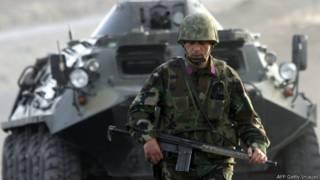 Турецкий военнослужащий