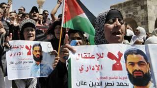 تجميد أمر اعتقال إداري للفلسطيني محمد علان المضرب عن الطعام