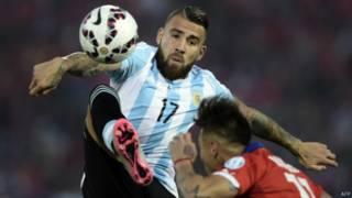 مانشستر سيتي يضم الأرجنتيني نيكولاس أوتاميندي مقابل 32 مليون استرليني