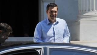 ग्रीस के प्रधानमंत्री एलेक्सिस त्सिप्रास