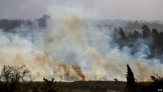 الجيش الإسرائيلي يشن غارات على مواقع سورية في الجولان ردا على إطلاق صواريخ على إسرائيل