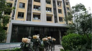 天津市政府已经同意,对在8月12日爆炸中受损的房屋以市场化方式回购