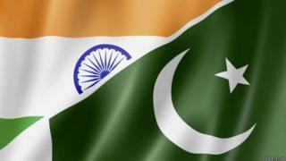 भारत-पाकिस्तान के ध्वज