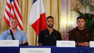 法國列車襲擊案 美兵講述制服槍手過程