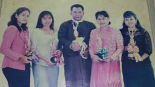 Director Maung Tin Oo and Family